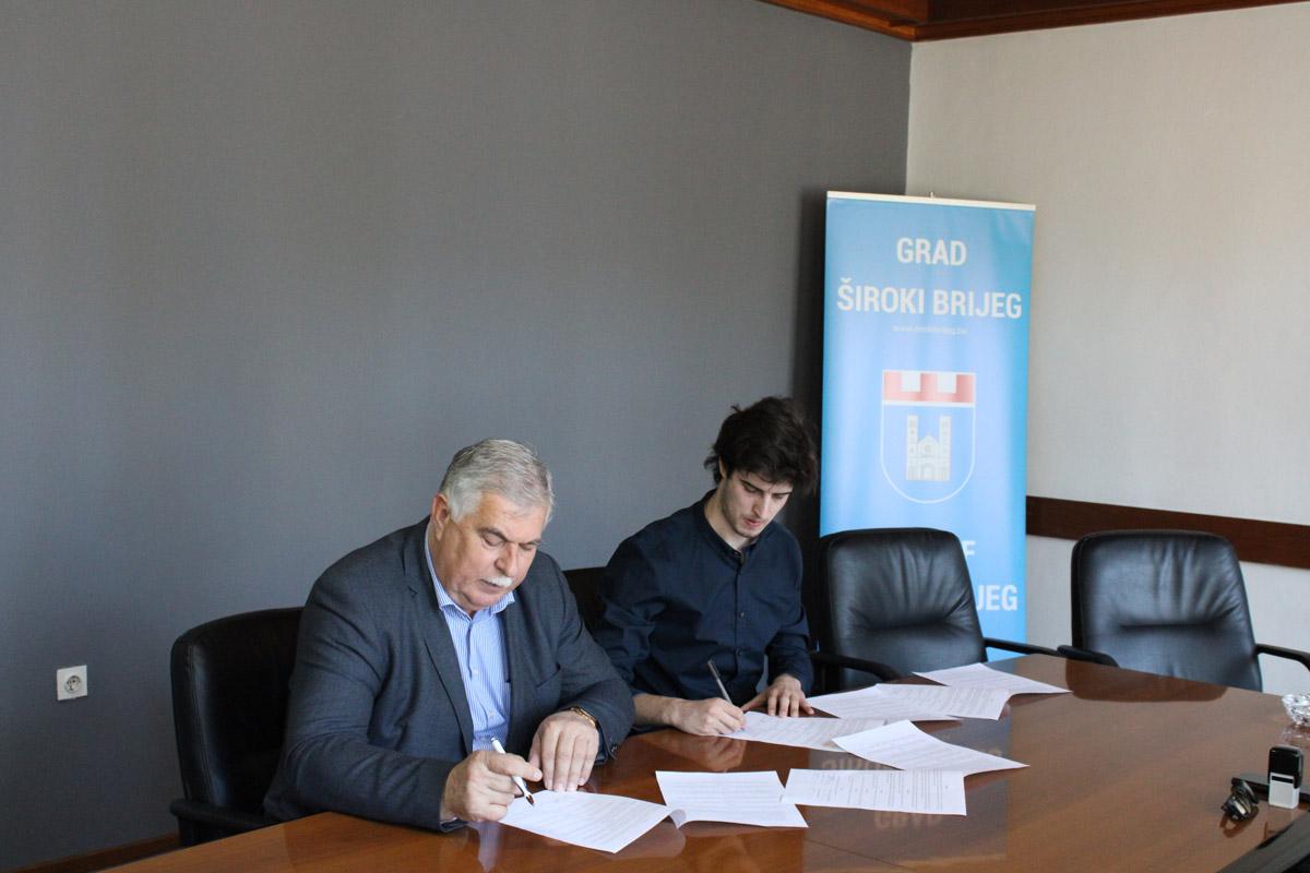Potpisani sporazumi o suradnji gradova i općina na području ŽZH u okviru projekta koji financira EU