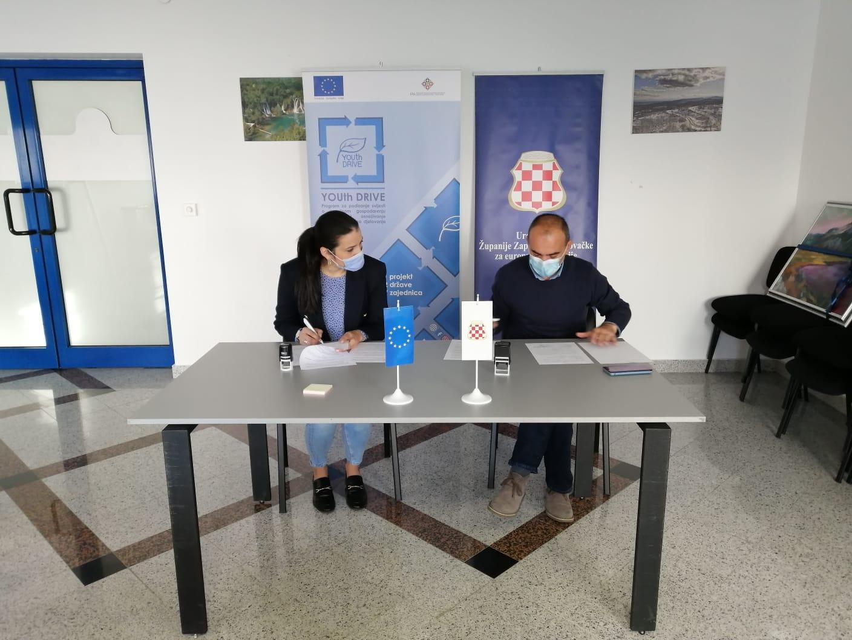 Potpisan sporazum o suradnji EKO ZH i Ureda Vlade ŽZH za EI u okviru projekta koji financira EU