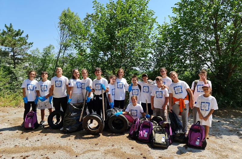Podrška Evropske unije u održavanju eko akcija mladih na području Boke Kotorske