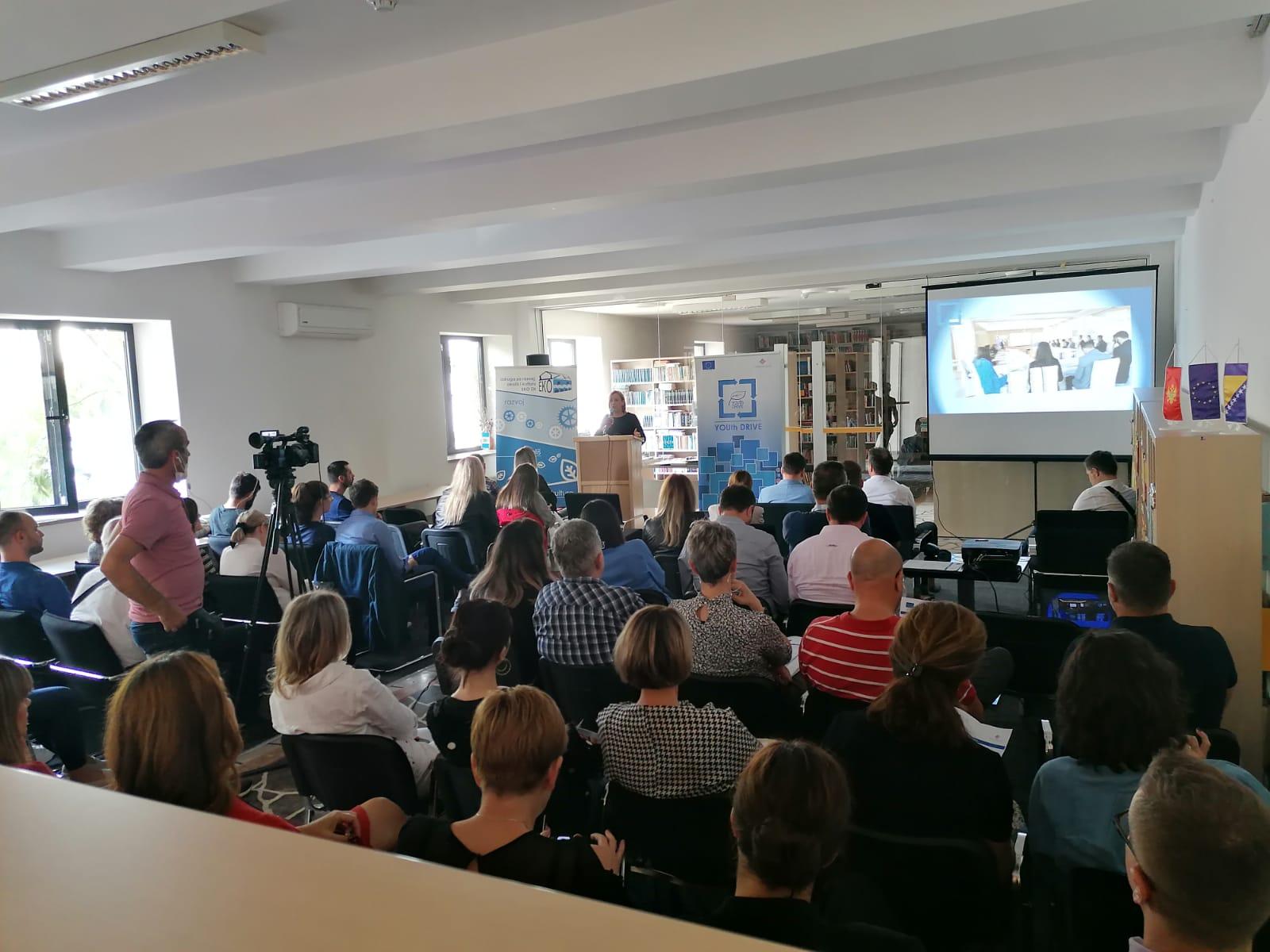 Završna konferencija projekta o pravilnom upravljanju otpadom u Županiji Zapadnohercegovačkoj i Boki Kotorskoj